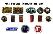 Fiat Badges
