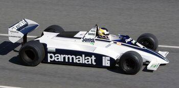 Brabham BT49B, 1980 driven by Nelson Piquet, by Glenn Warren