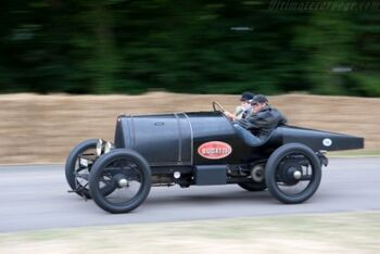 Bugatti Type 18 Grand-Prix, Chassis 471, at the 2009 Goodwood Festival of Speed, WM