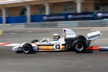 McLaren M19A Cosworth, Chassis M19A-2, at the 2008 Monaco Historic Grand Prix, WM