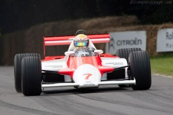 McLaren MP4-1 Cosworth, Chassis MP41-1, at the 2011 Goodwood Festival of Speed, WM