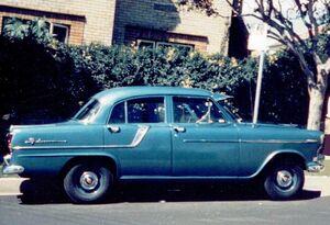 1959 Holden FC in 1966 at Balgowlah Australia