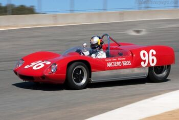 Lotus 19 - Climax, Chassis 951, at the 2010 Monterey Motorsports Reunion, WM