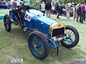Delage R Type (1910) Engine 1498cc, at the 2011 Prescot VSCC Hillclimb, Gothrington, RK