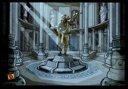 Titans wing lobby