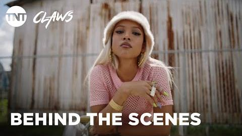 Claws Lady Bosses - Season 2 BEHIND THE SCENES TNT