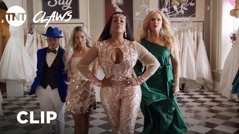 Claws Dress Shopping - Season 2, Ep. 9 CLIP TNT