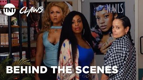Claws The Nails of Season 2 BEHIND THE SCENES TNT