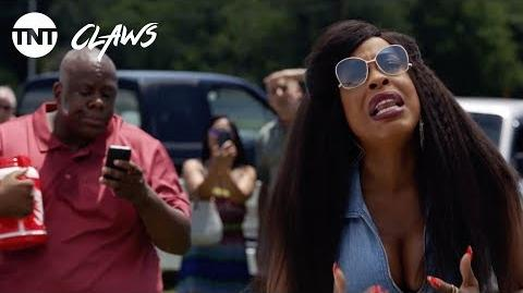 Claws What Are You Doing Up There? - Season 1, Ep. 5 CLIP TNT