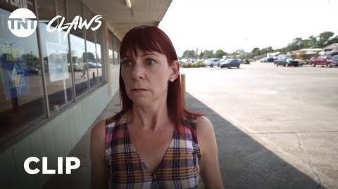 Claws Polly's Breakdown - Season 2, Ep. 9 CLIP TNT