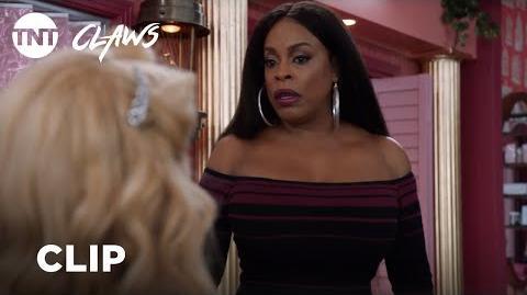 Claws Desna vs Quiet Ann - Season 2, Ep. 4 CLIP TNT