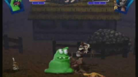 Clayfighter Sculptor's Cut The Blob Run (3 3)