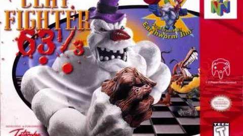 Clayfighter 63 1 3 Santa Toy Factory Music