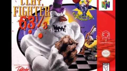 Clayfighter 63 1 3 Ghastly Graveyard