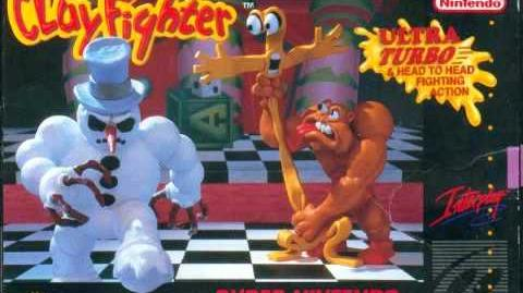 Clayfighter (SNES) - Fort Frosty