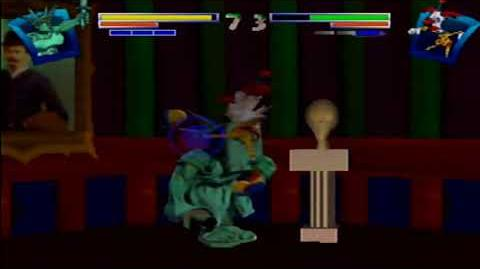 ClayFighter Sculptor's Cut - Match 2 - All Pools