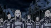 Lily y Eliza siendo puestas en un equipo anime