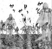 Miria es atacada por la Organización