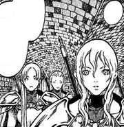 Flora, Claudia y Karla