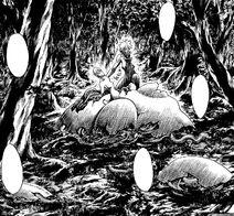 Priscilla devorando a Cassandra