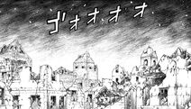 Ciudad de Alphonse I destruida