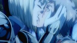 Clare besa a Raki