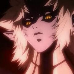 Anime Priscilla in the volcano
