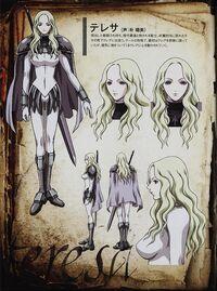 Teresa-Claymore-anime-artwork-