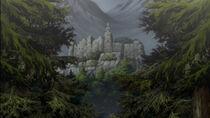 Il castello di Riful sul monte Zakol 2
