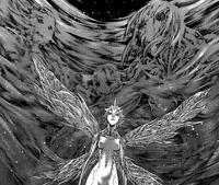 Priscilla circondata dal Distruttore - Cap 105