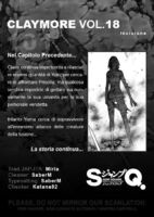 Claymore 18 incisione