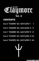 Claymore episodi del volume 2