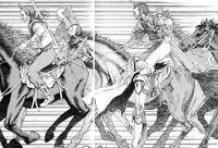 I banditi andando verso Rikuto