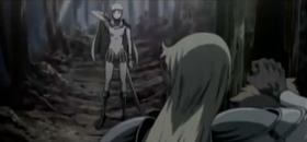 Claire Raki e lo Yoma nel bosco di Egon
