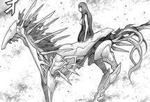 Octavia forma risvegliata mentre si rigenera (di lato)