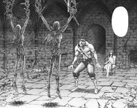 Jean Raquel Katia torturate nel castello di Riful e Duff