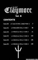 Claymore episodi del volume 8