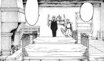 La stanza di Claire e Raki nella locanda di Rabona cap 5