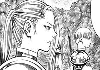 Nina e Keira durante la ribellione delle Claymore