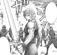 Raki durante la ribellione delle guerriere