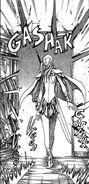 La spada fulminea nel manga