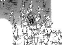 Le guerriere della generazione di Cassandra mentre uccidevano Cassandra