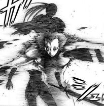 Riccardo uccidendo Veronica nel manga