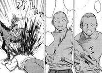 Abitante di Rokuto ucciso dal capo dei banditi 2 cap 16