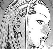Raftela volto (ferita) (Claymore)