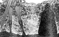 Il primo incontro di Ofelia e Miria in una caccia (Claymore Italia Wiki)