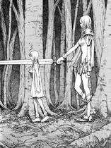 Claire e Teresa nel bosco 1 cap 13