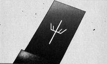 La carta nera di Elena nel manga