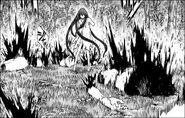 Riful mentre uccide i Divora Abisso