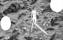 Priscilla circondata dai resti di Riful dell'Ovest cap 142